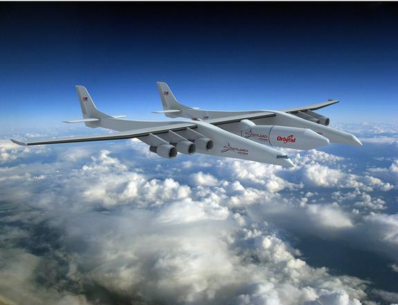 Orbital Sciences Hired To Build Stratolaunch Rocket
