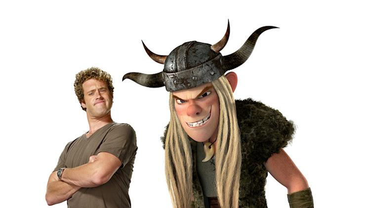 How to Train Your Dragon Production Photos 2010 DreamWorks TJ Miller