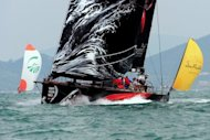 American team Puma snatched the lead in Leg 6 of the Volvo Ocean Race on Wednesday as the fleet prepared for 24 hours that could prove crucial in the race to the Miami finish line