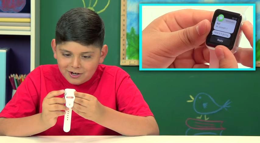The funniest thing you'll see today: Kids react to the Apple Watch