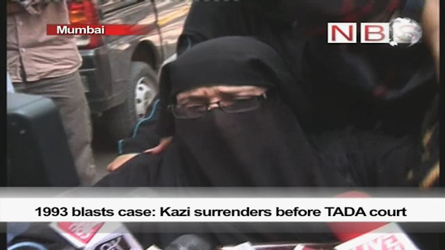 1993 blasts case: Kazi surrenders before TADA court