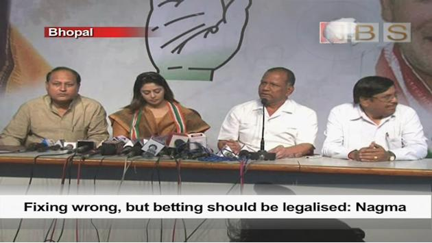Fixing wrong, but betting should be legalised: Nagma