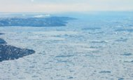 The Artic Ocean is pictured off the coast of Greenland in 2008. The Arctic region is now losing about 155,000 square kilometers (60,000 square miles) of ice annually, the equivalent of a US state every two years, said Walt Meier, a scientist at the National Snow and Ice Data Center