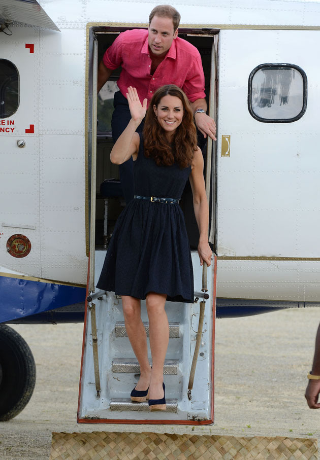 Kate Middleton and Prince William have gone off on holiday. Copyright
