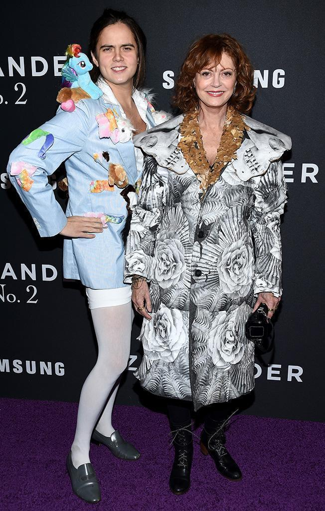 Susan Sarandon's Son Accompanies Her to the 'Zoolander 2′ Premiere Wearing a My Little Pony Blazer