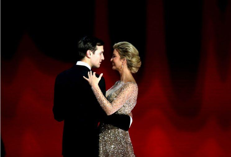 Ivanka Trump Has a Princess Moment in Carolina Herrera at Inaugural Balls