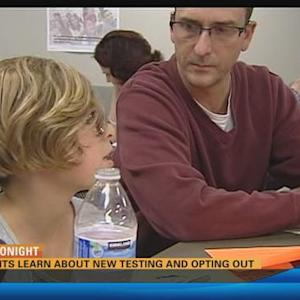 Parents learn how to opt-out their students from standardized testing