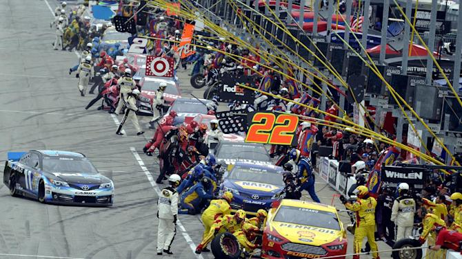 Earnhardt, Logano have some real chasing to do