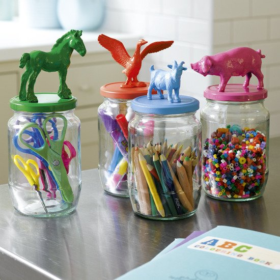 Pasta Jars for Crafts