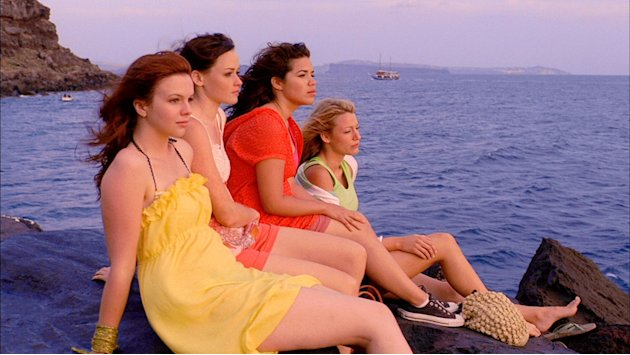 Amber Tamblyn Alexis Bledel America Ferrera Blake Lively The Sisterhood of the Traveling Pants 2 Production Stills Warner Bros. 2008