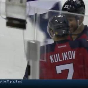 Dmitry Kulikov Goal on James Reimer (02:45/3rd)