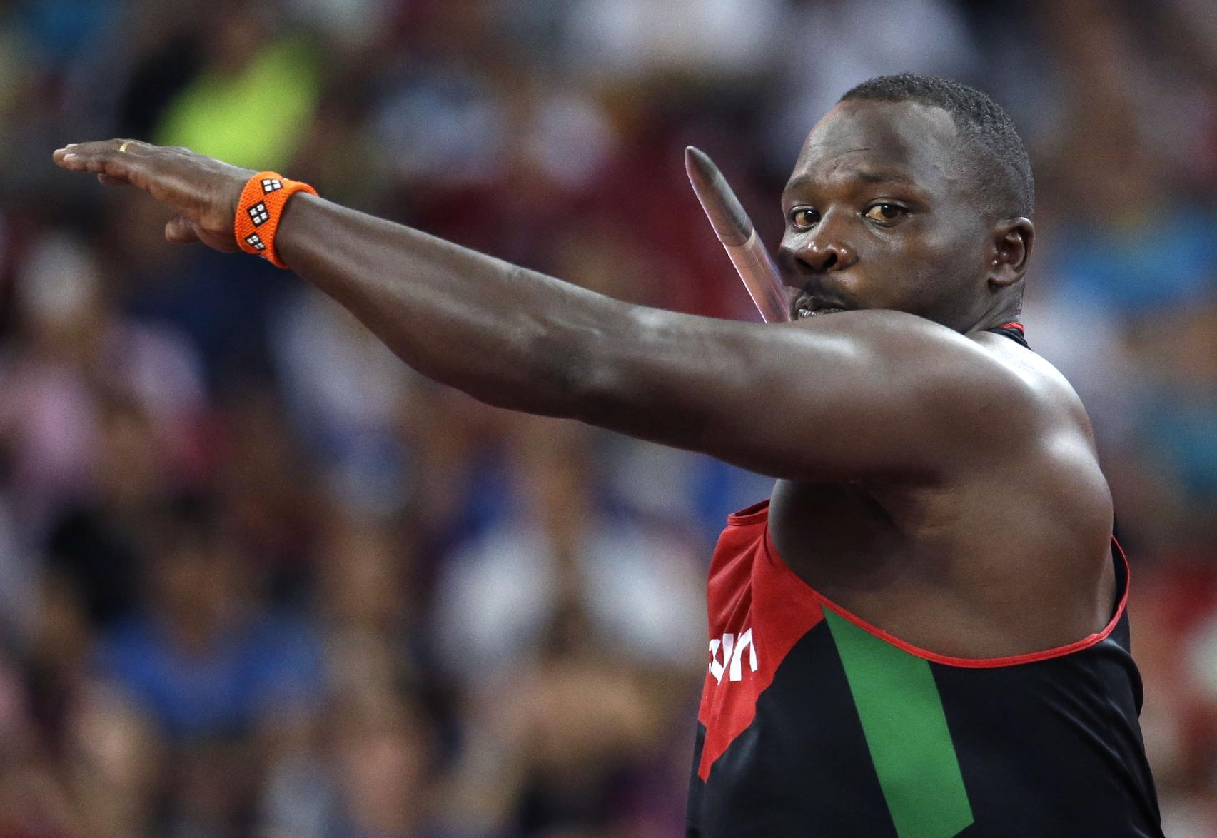 Kenya's historic win in javelin overshadowed by doping tests