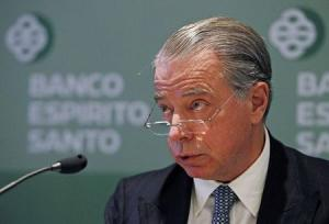File photo shows Portuguese Bank Espirito Santo's CEO Salgado during a news conference in Lisbon