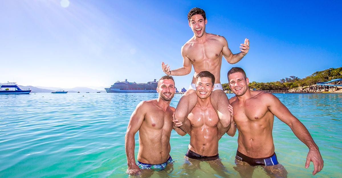 Play. Dance. Swim.  Do It All. On A Gay Cruise.