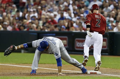 Goldschmidt gets winning hit off Beckett in 9th