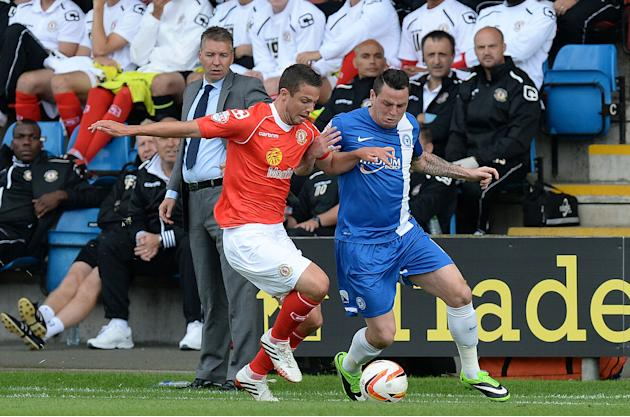 Soccer - Sky Bet Football League One - Crewe Alexandra v Peterborough United - Alexandra Stadium