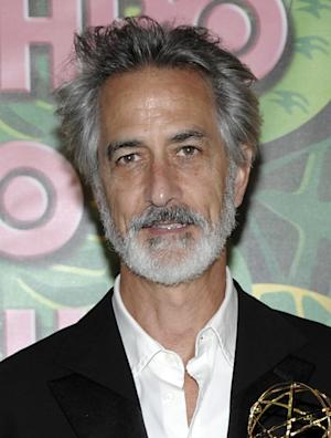 "FILE - In this Aug. 29, 2010 file photo, actor David Strathairn arrives at the HBO Emmy party in West Hollywood, Calif. Producers announced Thursday, March 15, 2012, that Strathairn will star in the play opposite Jessica Chastain in ""The Heiress,"" opening in the Fall of 2012.   (AP Photo/Dan Steinberg, file)"