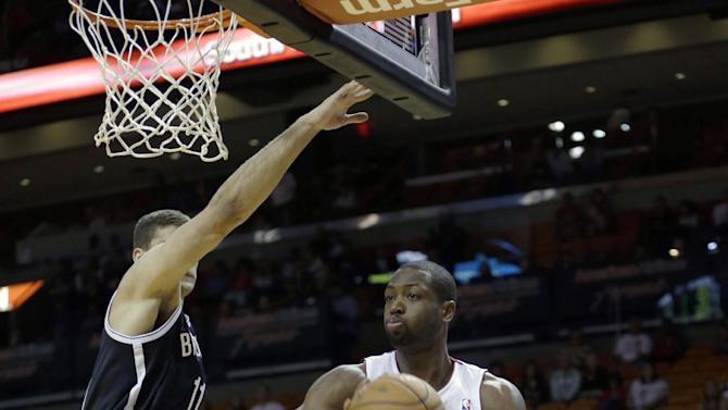 Williams scores 11, Nets top Heat 108-87