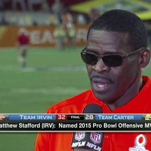 Michael Irvin: It was an incredible game, I'm blessed to be here