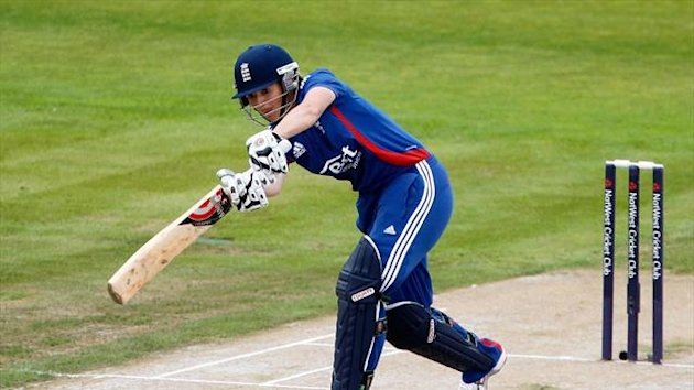 Charlotte Edwards made history as England beat India
