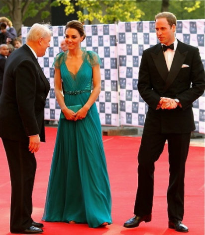 The Duke and Duchess of Cambridge are quite the fashionable pair.