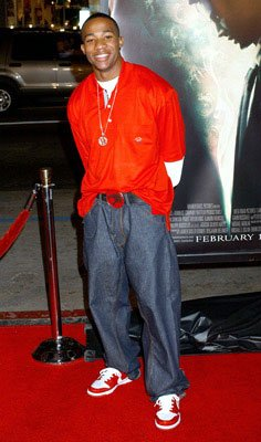 Arlen Escarpeta at the Hollywood premiere of Warner Bros. Pictures' Constantine