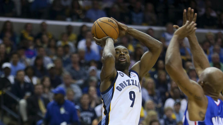 NBA: Playoffs-Los Angeles Clippers at Memphis Grizzlies