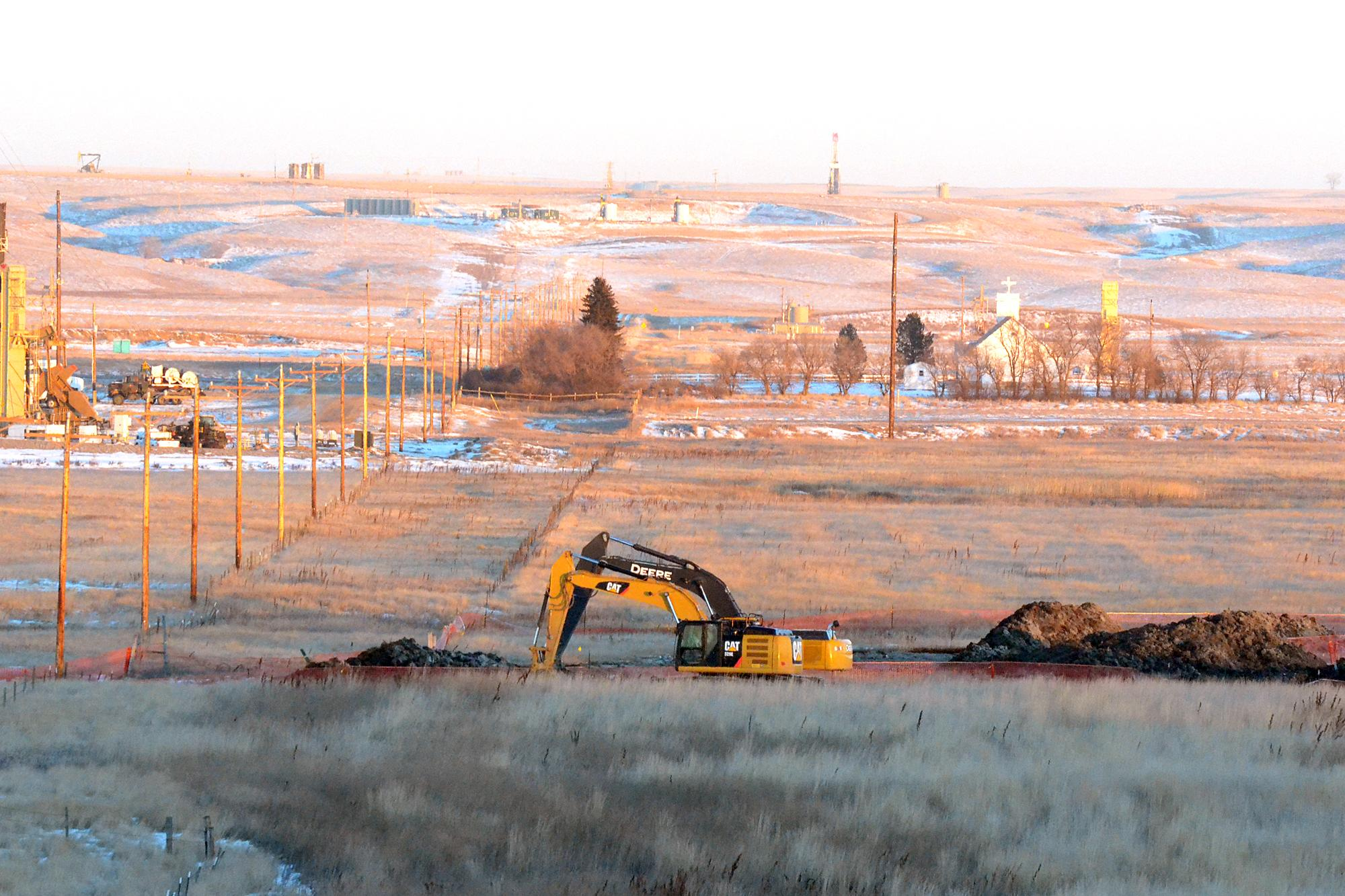 EPA: 4M gallons pumped from North Dakota saltwater spill