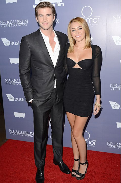 Miley Cyrus & Liam Hemsworth: Their Sexiest Red Carpet Moments