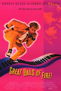 Poster of Great Balls of Fire