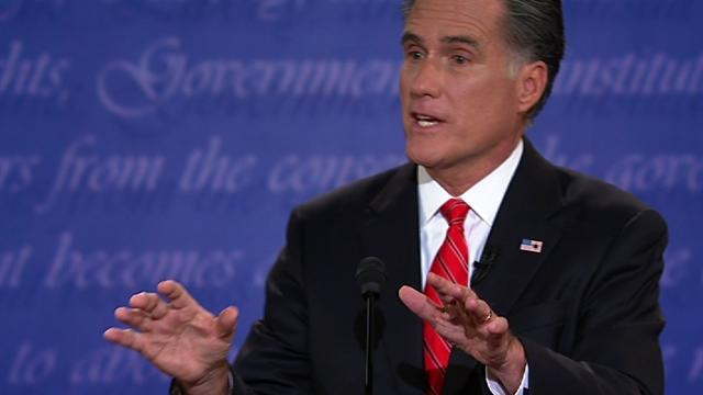 "Romney: ""I love Big Bird,"" but I'd cut PBS funding"