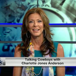 Charlotte Jones Anderson and Cowboys are confident in quarterback Tony Romo's health