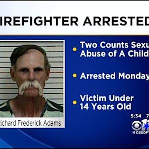 Firefighter Arrested On Child Sex Abuse Charges