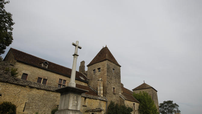 This Sept. 10, 2012 photo shows the Gevrey-Chambertin castle in Burgundy, eastern France. In an email, Macau casino magnate Louis Ng Chi Sing who bought the chateau says it was the quiet, enduring traditions that first drew him to the Burgundy region and he promised not to ruin that. He describes his purchase of the chateau not as a business opportunity, but in the way most people explain why they bought their summer house. (AP Photo/Laurent Cipriani)
