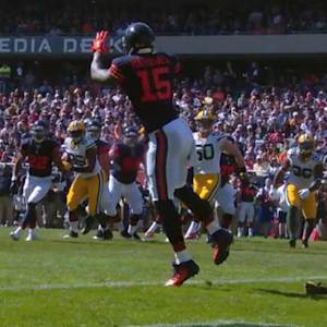 Chicago Bears wide receiver Brandon Marshall touchdown catch