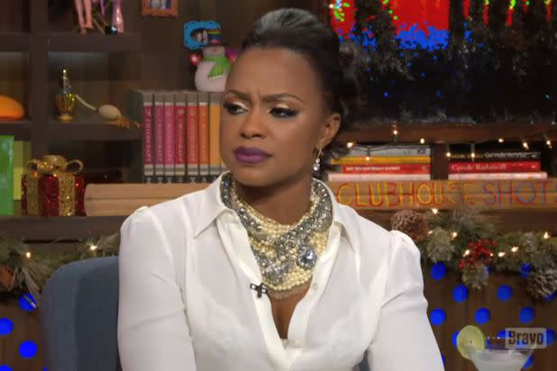 'Real Housewives of Atlanta' Star Phaedra Parks Says Husband Apollo Nida's Incarceration 'Very Tough' on Kids (Video)