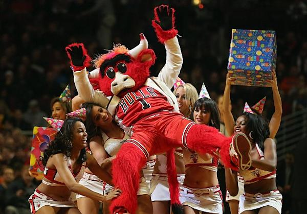 Benny the Bull is the most popular mascot in America, says Forbes | Ball Don't Lie - Yahoo Sports