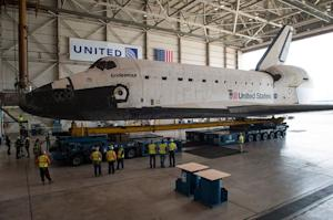 Space Shuttle Endeavour to Leave on L.A. Road Trip This Week