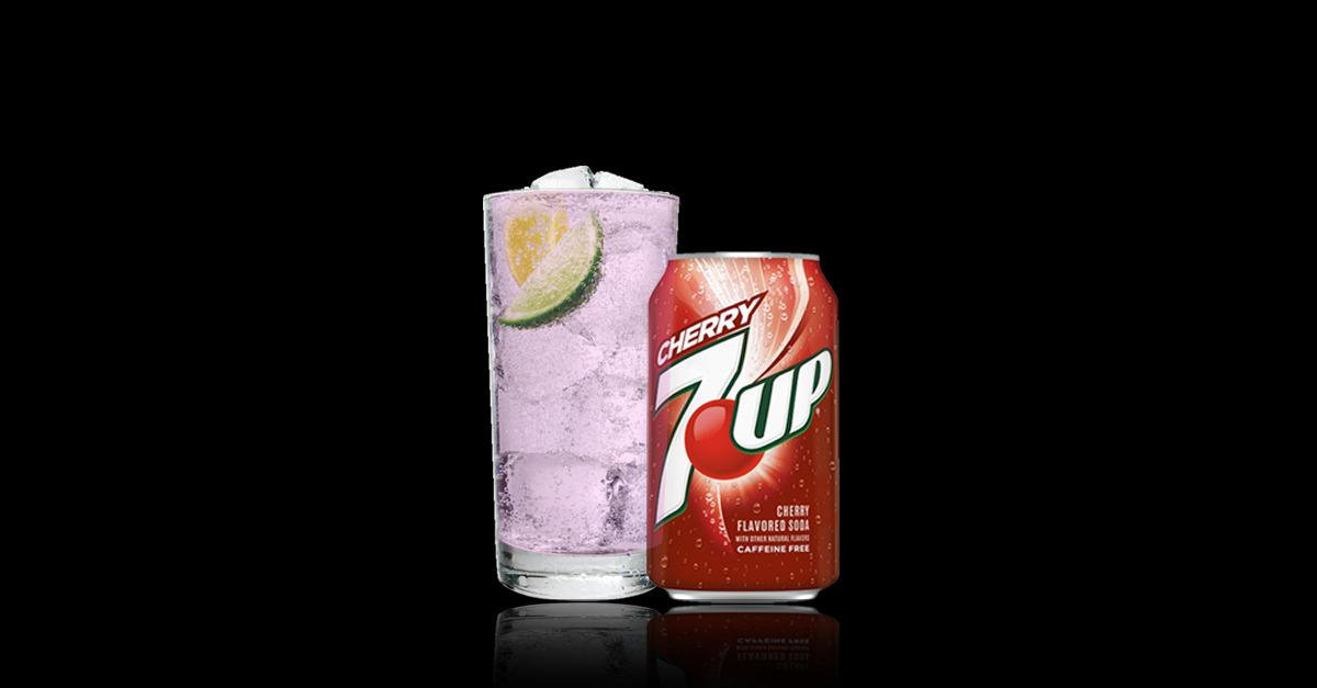 Drink UP Every Day With Cherry 7UP®.