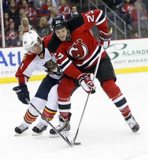 Devils rally 6-2 vs Panthers, keep playoff hopes