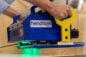 ShopBot Launches Kickstarter for the Handibot™ Smart Power Tool