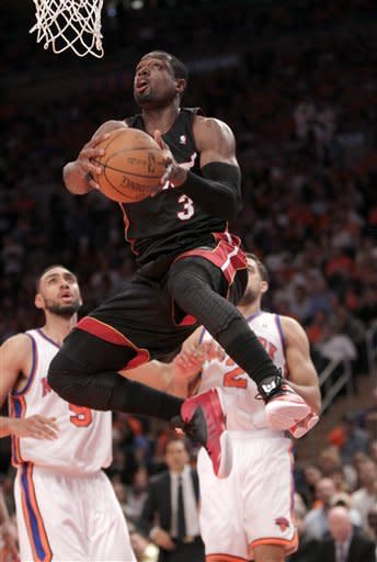 Heat beat Knicks 93-85, clinch Southeast Division