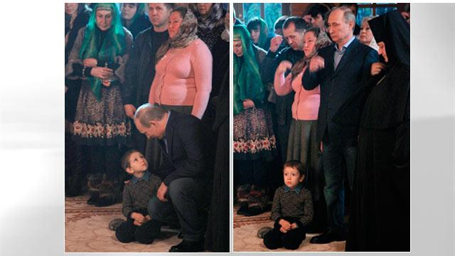 What Did Putin Say to Scare This Boy?