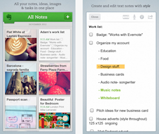 Seven Killer Apps All Small Business Owners Should Add to Their Everyday Operation image Evernote app