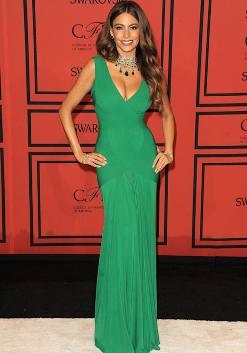 CFDA Fashion Awards 2013: Sofia Vergara Herve L Leroux