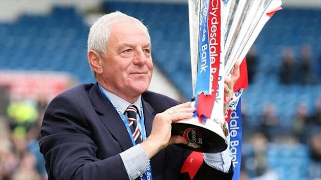 Walter Smith led Rangers to 10 titles
