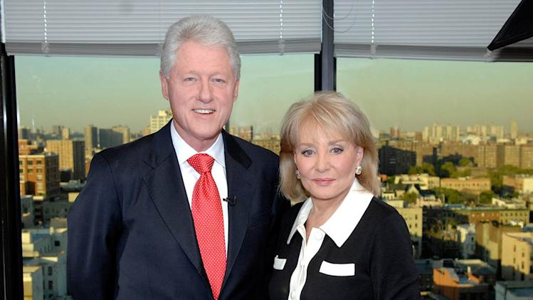 Bill Clinton and Barbara Walters on Barbara Walters Presents:  The 10 Most Fascinating People of 2007.