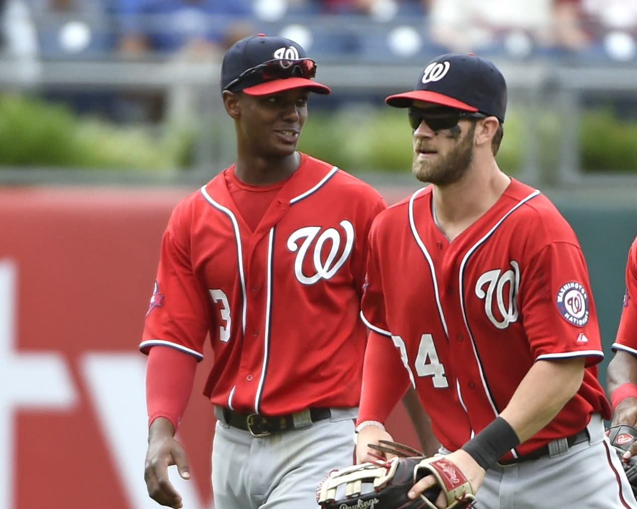 Harper returns to Nats lineup, Taylor still hurting