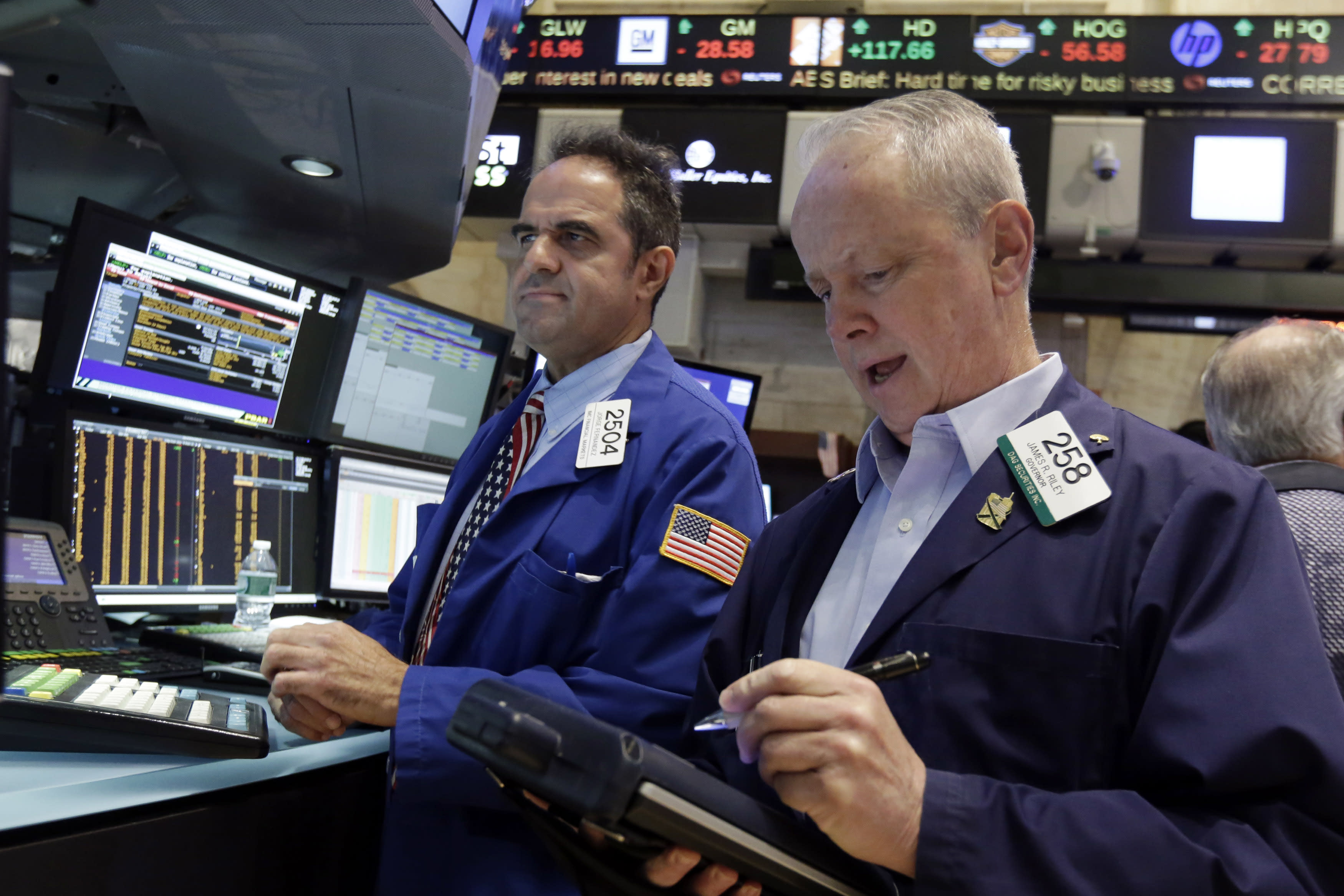 US stocks close flat Friday after a volatile week