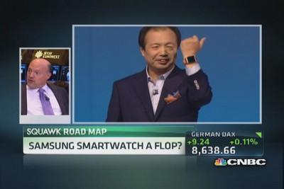 Cramer: Samsung's smartwatch is a 'paint by numbers' devi...